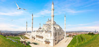 Wonderful New Camlica Mosque on Asian side of Istanbul, Turkey