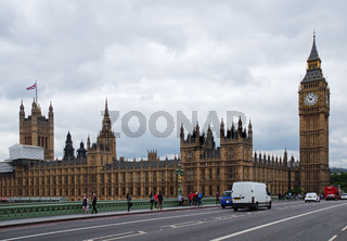 'Elizabeth Tower' und 'Palace of Westminster' - London