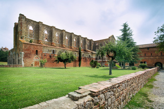 Cistercian convent built in the 12th-century