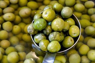 Castelvetrano Sweet Green Olives