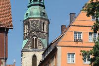 Hanover - Quarter around the Kreuzkirche, Germany