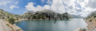 Mallorca Aussichtspunkt Torrent de Gorg Blau, Majorca Viewpoint Torrent de Gorg Blau - Panorama