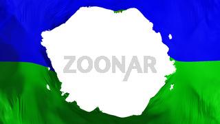 Broken Rabat city flag