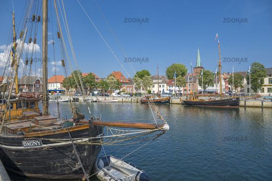 Harbor in Neustadt in Holstein