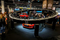 Mazda stand in the Photokina Exhibition