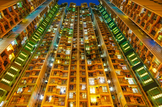Hong Kong - South West - Tower Blocks - Living vertically