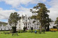 The Blair Castle in Scotland