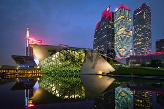 Guangzhou Opera House. Guangzhou, China