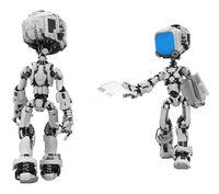 Blue Screen Robots, Handout