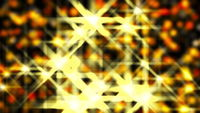 Digital background from stars, sparkle and particles. Computer generated 3d render