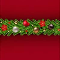Christmas Garland Poster