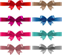 Color Bows Isolated