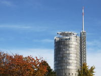 Essen/ Germany - 2018-11-06: Tower of RWE / innogy headquarters (editorial)