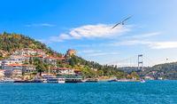 Roumeli Hissar Castle and the Fatih Sultan Mehmet Bridge, Istanbul