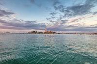 View at San Giorgio Maggiore island, Venice, Italy