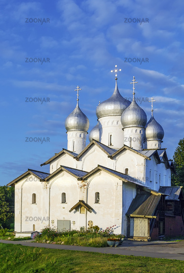 The Church of Boris and Gleb, Veliky Novgorod, Russia