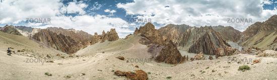 Markha valley panorama