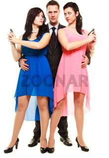 Jealousy between women relationship in triangle.