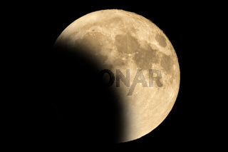 Lunar eclipse - Full Moon Luna