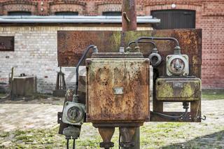 alte Elektroinstallation   old electrical installation