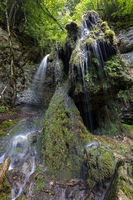 Tannegger waterfall in the wutach gorge in the Black Forest