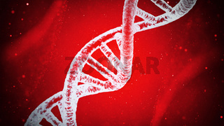 microscopic dna dns sequence. medical, pharmaceutical, cloning concept.