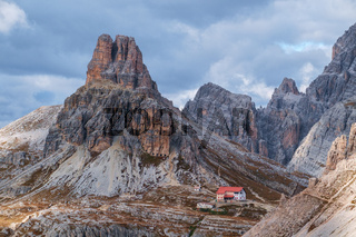Dolomites mountain panorama,Italy