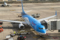 Airplane of Thomson on Gran Canaria