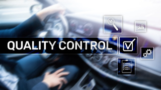 Quality control and assurance. Standardisation. Guarantee. Standards. Business and technology concept.