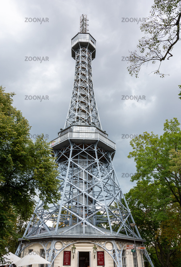 Petrin Lookout Tower in Prague