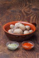 Kanarischen Kartoffeln mit Mojo