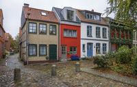 In the alleys of Eckernfoerde