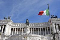 Vittorio Emanuele II, national monument, Piazza Venezia square, Rome, Italy, Europe