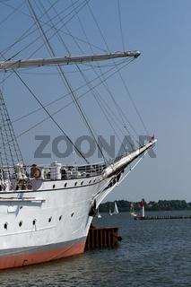 Die Gorch Fock. Stralsund. Deutschland