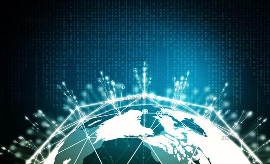 internet big data information concept