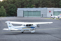 small aircraft on an airfield