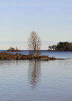 Quiet late autumn day in Dalsland, Sweden.