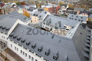 Blick vom Kirchturm in Annaberg-Buchholz