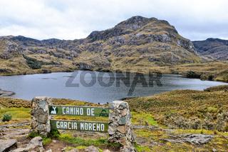 Camino de Garcia Moreno