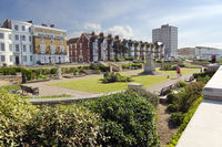 Gardens on the promenade Herne Bay Kent
