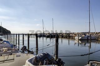 Segelhafen von Lohme