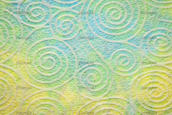 paper texture with spiral pattern