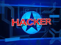 Hacker From North Korea Attack 3d Illustration