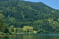 Lake Afritzer See in Carinthia,Austria