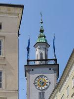 Salzburg - Town hall tower, Austria