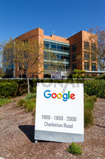 Google headquarter headquarters HQ Googleplex portrait format Mountain View