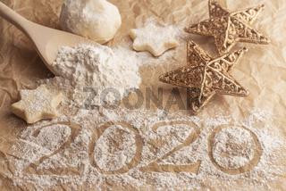 Weihnachtsbäckerei mit Jahreswechsel 2020