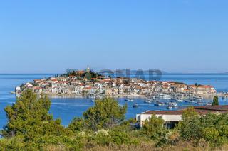 View of Rogoznica, Croatia