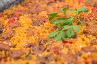 Rice with Iberian pork ribs