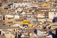 View to Toledo, Town in Spain
